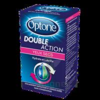 Optone Double Action Solution Oculaire Yeux Secs Fl/10ml à CHALON SUR SAÔNE