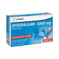 Efferalgan 1g Cappuccino Granules 8 Sachets à CHALON SUR SAÔNE