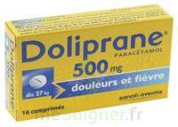 DOLIPRANE 500 mg Comprimés 2plq/8 (16) à CHALON SUR SAÔNE