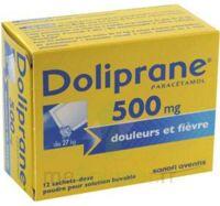 Doliprane 500 Mg Poudre Pour Solution Buvable En Sachet-dose B/12 à CHALON SUR SAÔNE