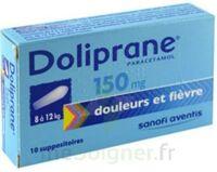 Doliprane 150 Mg Suppositoires 2plq/5 (10) à CHALON SUR SAÔNE