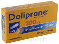 Doliprane 200 Mg Suppositoires 2plq/5 (10) à CHALON SUR SAÔNE