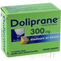 Doliprane 300 Mg Poudre Pour Solution Buvable En Sachet-dose B/12 à CHALON SUR SAÔNE