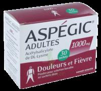 Aspegic Adultes 1000 Mg, Poudre Pour Solution Buvable En Sachet-dose 30 à CHALON SUR SAÔNE