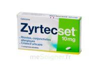 ZYRTECSET 10 mg, comprimé pelliculé sécable à CHALON SUR SAÔNE