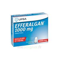 Efferalgan 1000 mg Comprimés pelliculés Plq/8 à CHALON SUR SAÔNE
