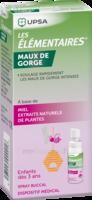 LES ELEMENTAIRES Spray buccal maux de gorge enfant Fl/20ml à CHALON SUR SAÔNE