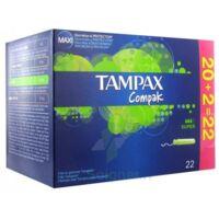 Tampax Compak, Super, Bt 22 à CHALON SUR SAÔNE