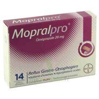 Mopralpro 20 Mg Cpr Gastro-rés Film/14 à CHALON SUR SAÔNE