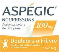 ASPEGIC NOURRISSONS 100 mg, poudre pour solution buvable en sachet-dose à CHALON SUR SAÔNE