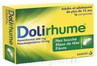DOLIRHUME PARACETAMOL ET PSEUDOEPHEDRINE 500 mg/30 mg, comprimé à CHALON SUR SAÔNE