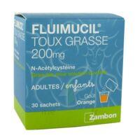 Fluimucil Expectorant Acetylcysteine 200 Mg Sans Sucre, Granulés Pour Solution Buvable En Sachet édulcorés à L'aspartam Et Au Sorbitol à CHALON SUR SAÔNE