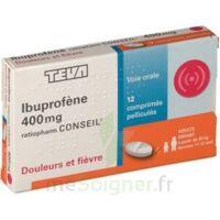 Ibuprofene Teva Conseil 400 Mg, Comprimé Pelliculé à CHALON SUR SAÔNE