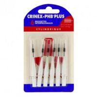 Crinex Phb Plus Brossette Inter-dentaire Cylindrique B/6 à CHALON SUR SAÔNE
