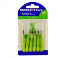 CRINEX PHB PLUS Brossette inter-dentaire micro B/6 à CHALON SUR SAÔNE