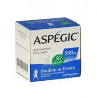 Aspegic 500 Mg, Poudre Pour Solution Buvable En Sachet-dose 30 à CHALON SUR SAÔNE