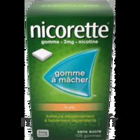 Nicorette 2 Mg Gomme à Mâcher Médicamenteuse Sans Sucre Fruits Plq/30 à CHALON SUR SAÔNE