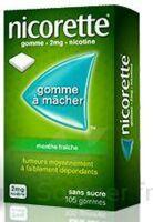 Nicorette 2 Mg Gom à Mâcher Médic Sans Sucre Menthe Fraîche Plq/30gom à CHALON SUR SAÔNE