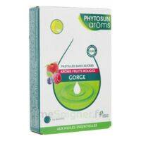 PHYTOSUN AROMS sans sucre Pastille fruits rouges B/24 à CHALON SUR SAÔNE