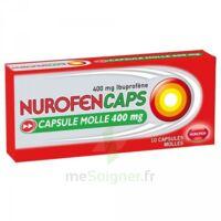 Nurofencaps 400 Mg Caps Molle Plq/10 à CHALON SUR SAÔNE
