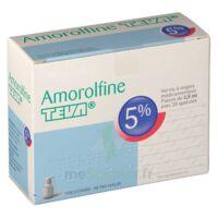 Amorolfine Teva 5 % Vernis Ongl Médic Médicamenteux 1fl Ver/2,5ml+spat à CHALON SUR SAÔNE