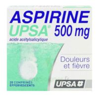 ASPIRINE UPSA 500 mg, comprimé effervescent à CHALON SUR SAÔNE