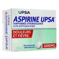 Aspirine Upsa Tamponnee Effervescente 1000 Mg, Comprimé Effervescent à CHALON SUR SAÔNE