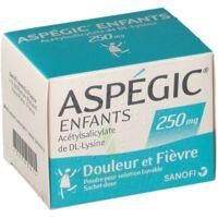 Aspegic Enfants 250, Poudre Pour Solution Buvable En Sachet-dose à CHALON SUR SAÔNE