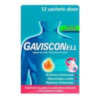 Gavisconell Suspension Buvable Sachet-dose Menthe Sans Sucre 12sach/10ml à CHALON SUR SAÔNE