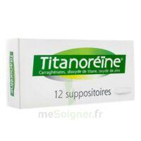 Titanoreine Suppositoires B/12 à CHALON SUR SAÔNE