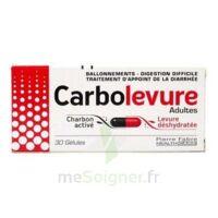 CARBOLEVURE Gélules adulte Plq/30 à CHALON SUR SAÔNE