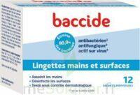 Baccide Lingette Désinfectante Mains & Surface 12 Pochettes à CHALON SUR SAÔNE