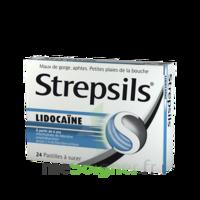 Strepsils lidocaïne Pastilles Plq/24 à CHALON SUR SAÔNE