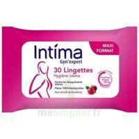 Intima Gyn'Expert Lingettes Cranberry Paquet/30 à CHALON SUR SAÔNE