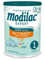 Modilac Expert Actigest 1 Lait poudre B/800g à CHALON SUR SAÔNE