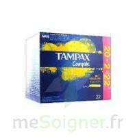 Tampax Compak - Tampon Régulier à CHALON SUR SAÔNE