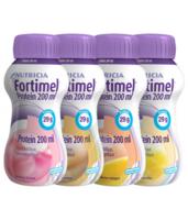 Fortimel Protein Nutriment multi saveurs caramel/vanille/fraise/mangue 4 Bouteilles/200ml à CHALON SUR SAÔNE
