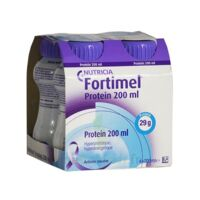 Fortimel Protein Sensation Nutriment neutre 4 Bouteilles/200ml à CHALON SUR SAÔNE