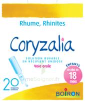 Boiron Coryzalia Solution Buvable Unidose B/20 à CHALON SUR SAÔNE