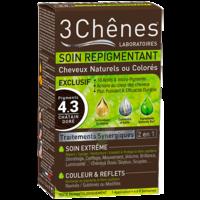 SOIN REPIGMENTANT Kit cheveux naturels ou colorés 4.3 pigments châtain doré à CHALON SUR SAÔNE