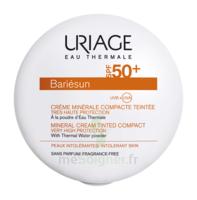 Uriage Bariesun Spf50+ Crème Compacte Minérale Teintée Claire Boîtier/10g à CHALON SUR SAÔNE