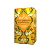 Pukka Bio Citron, Gingembre Et Miel De Manuka Tisane Immunité Citron Gingembre Miel De Manuka 20 Sachets à CHALON SUR SAÔNE