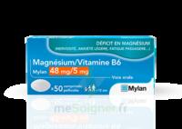 Magnesium/vitamine B6 Mylan 48 Mg/5 Mg, Comprimé Pelliculé à CHALON SUR SAÔNE