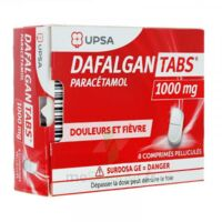 Dafalgantabs 1 G Cpr Pell Plq/8 à CHALON SUR SAÔNE