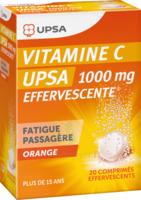 Vitamine C Upsa Effervescente 1000 Mg, Comprimé Effervescent à CHALON SUR SAÔNE
