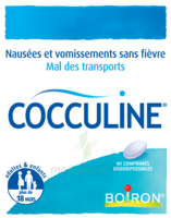 Boiron Cocculine Comprimés Orodispersibles B/40 à CHALON SUR SAÔNE