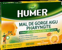 Humer Pharyngite Pastille Mal De Gorge Miel Citron B/20 à CHALON SUR SAÔNE